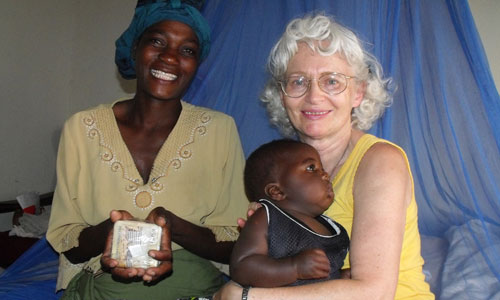 pastor susanne bouchard in malawi africa